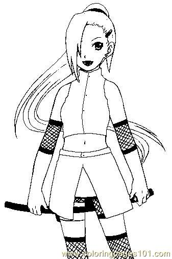 naruto coloring pages 008 coloring page