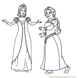 Shrek Coloring Page 11 Free Coloring Page for Kids