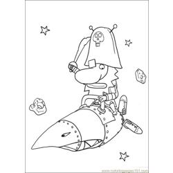Samsam 10 Free Coloring Page for Kids