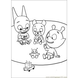 Samsam 11 Free Coloring Page for Kids