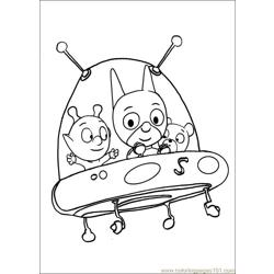 Samsam 14 Free Coloring Page for Kids