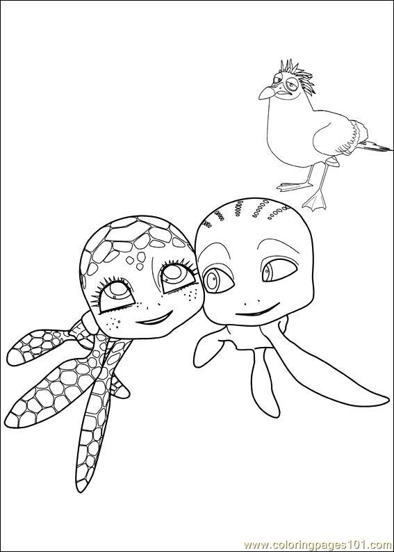 Sammy Adventures 12 Coloring Page