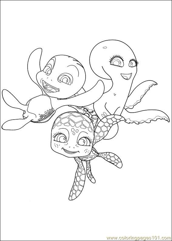 Sammy Adventures 17 Coloring Page