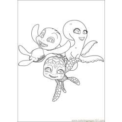 Sammy Adventures 17 Free Coloring Page for Kids