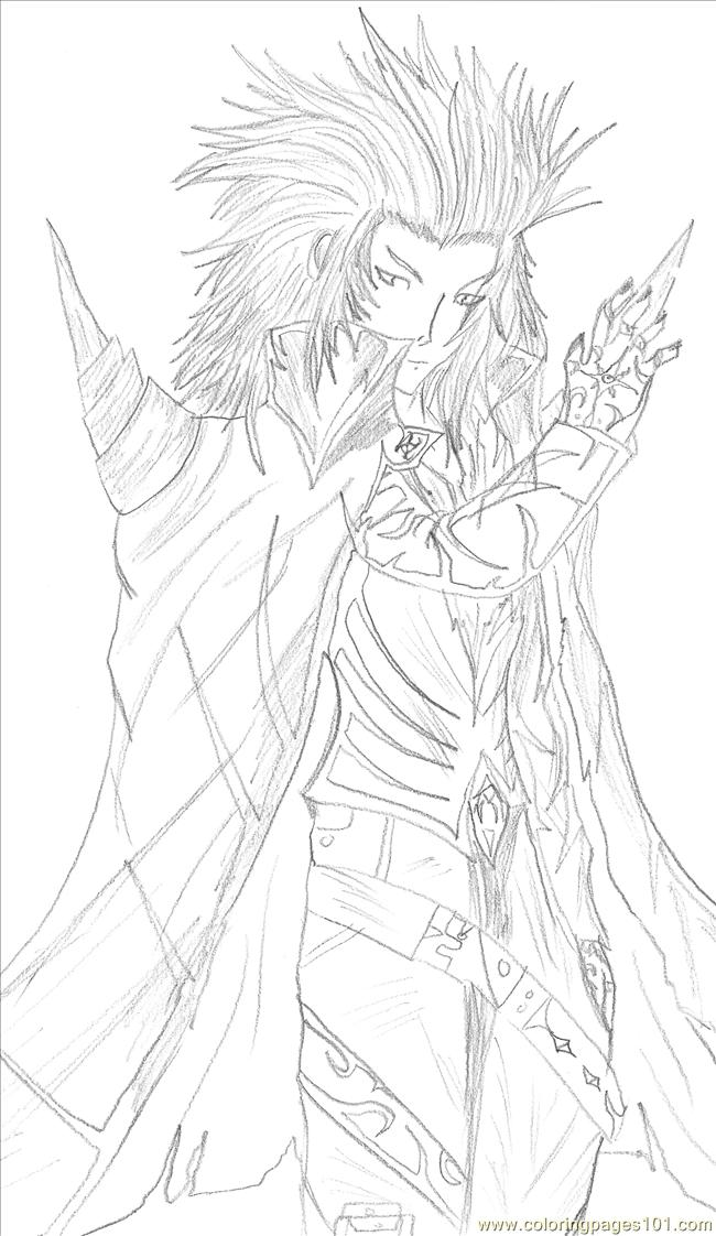 Reborn By Kuja For Sasuke Coloring Page