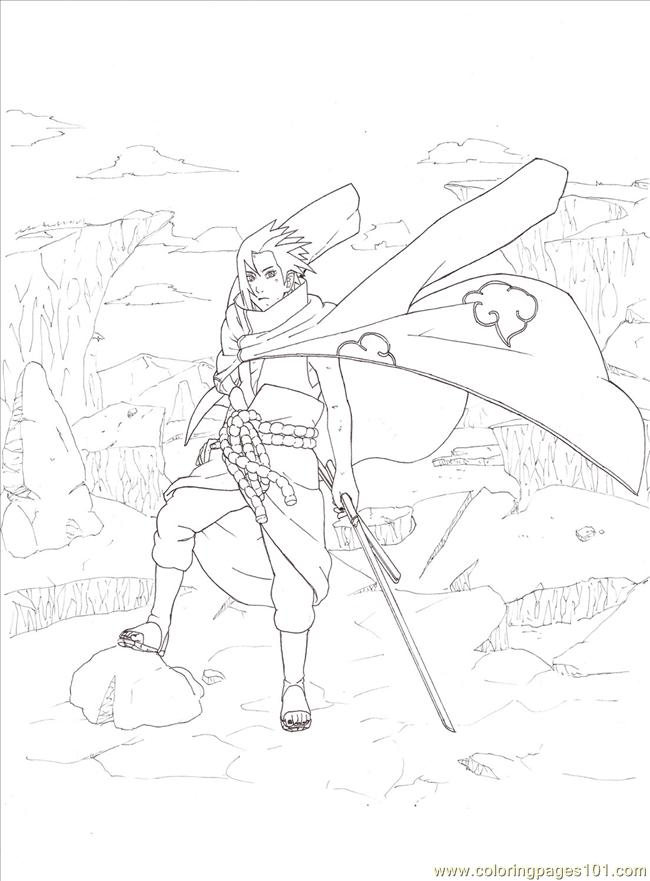 Lineart By Sharingandevil Coloring Page