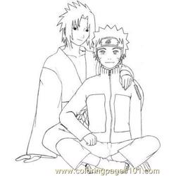 Naruto And Sasuke By Naegi
