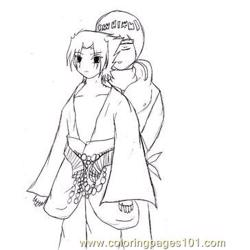 Sasuke By Uchiha00006 Free Coloring Page for Kids