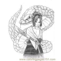 Sasuke Big Snake By Kotobayaoi