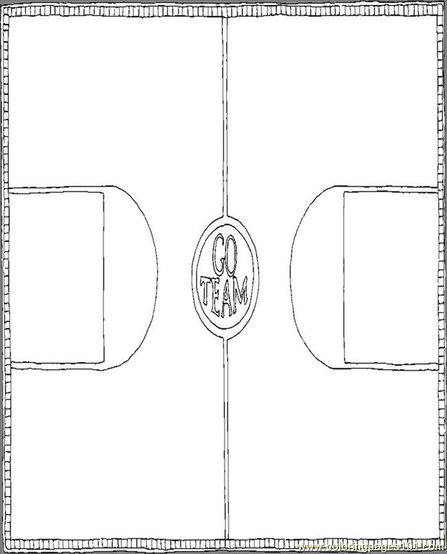 Bgd Gym Floor Coloring Page Free School Coloring Pages