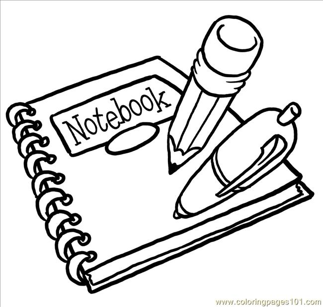 back2schoolsupplies big coloring page