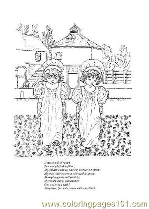 Nursery Rhymes Picture (22) Coloring Page