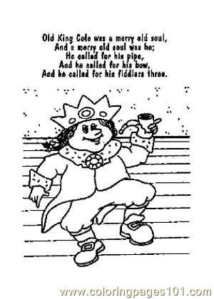 Nursery Rhymes Picture (2) Coloring Page