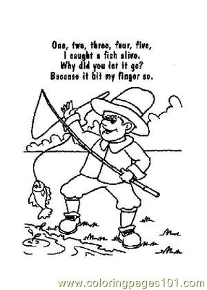 Nursery Rhymes Picture 32 Coloring Page