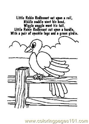 Nursery Rhymes Picture (35) Coloring Page