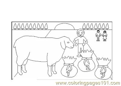 Nursery Rhymes Picture (43) Coloring Page