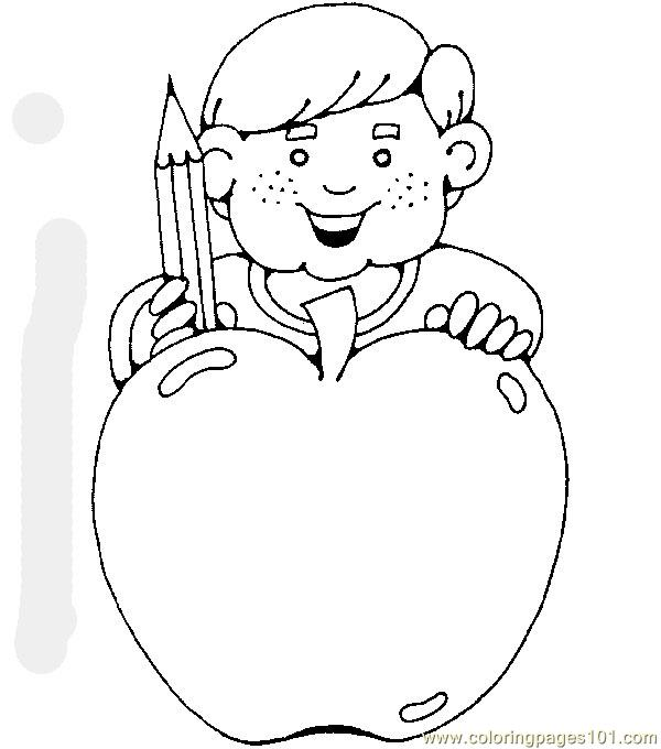 Back to school Coloring Page - Free School Coloring Pages ...