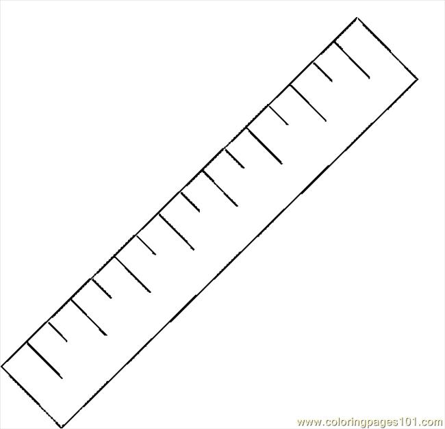 coloring pages ruler - photo#14