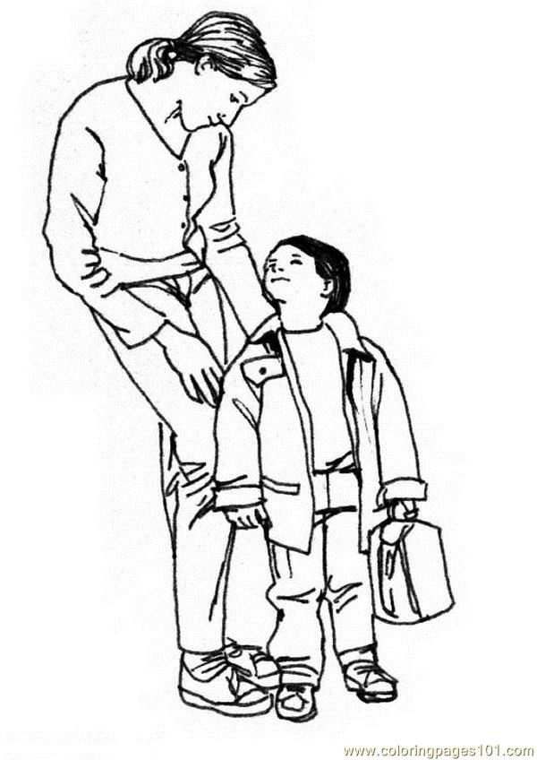 Go to school Coloring Page Free School Coloring Pages