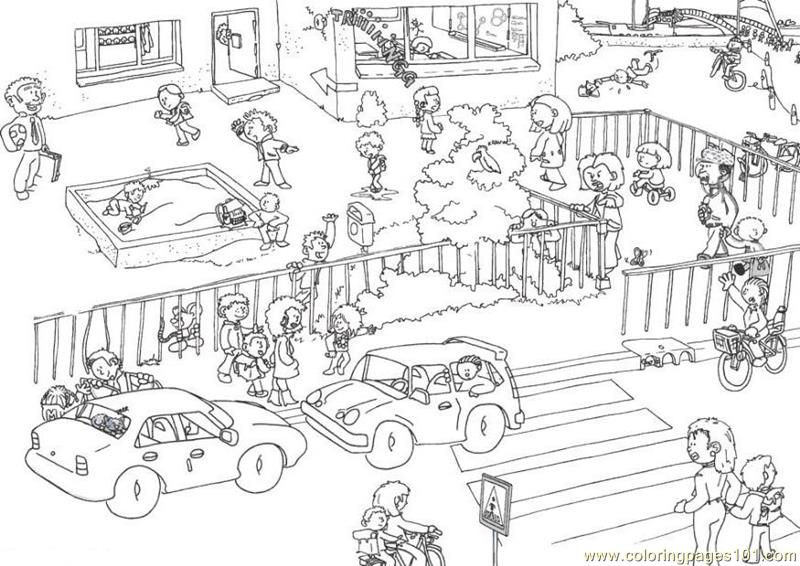ending school time coloring page free school coloring pages