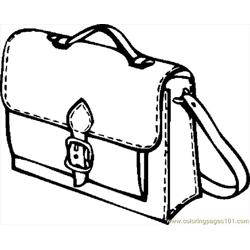 Book Bag 07 coloring page