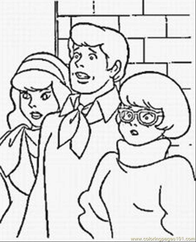 Scooby Doo Coloring Pages Coloring Page - Free Scooby Doo Coloring ...