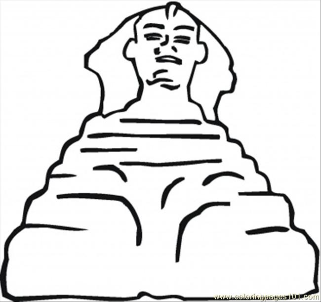 Sculpture Coloring Page