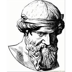 Plato 1 Lg Free Coloring Page for Kids