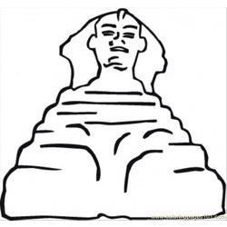 Sculpture Free Coloring Page for Kids