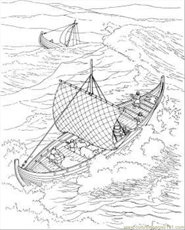 Ocean Coloring Page - Free Seas and Oceans Coloring Pages ...