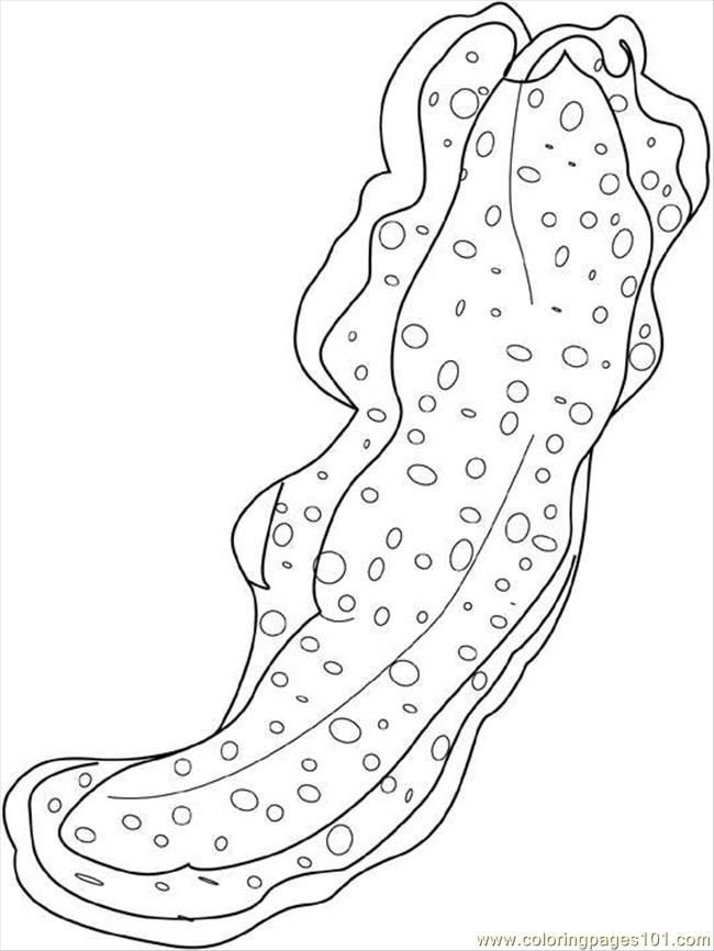 Sea Worms Coloring Page Free Seas And Oceans Coloring