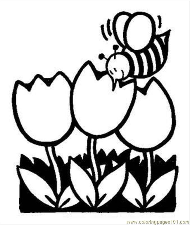Gardening Coloring Pages 1 Coloring Page
