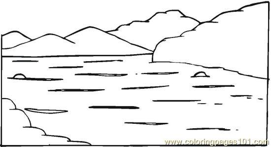 Pondriverlake 6 Coloring Page Free Seasons Coloring Pages