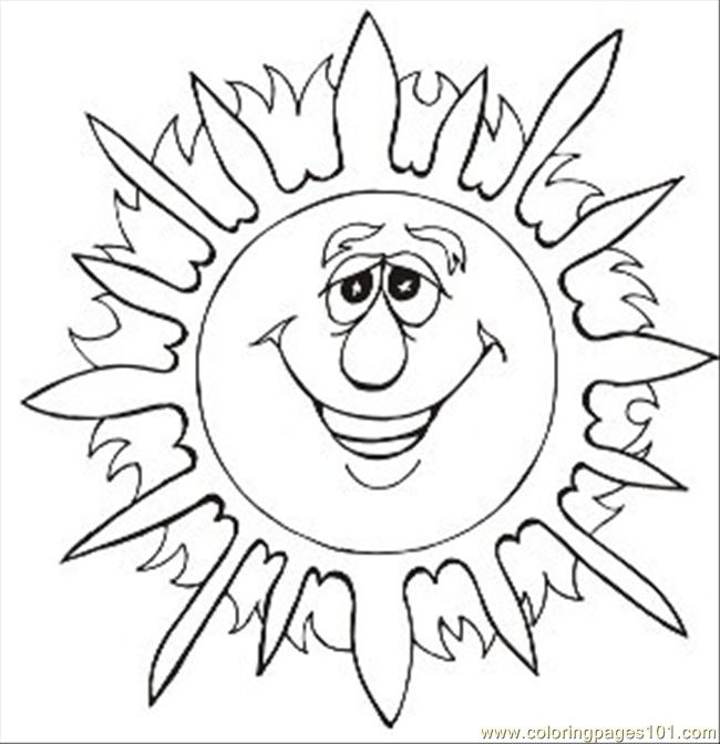 Sunsmall Coloring Page
