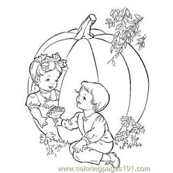 Herfst 26 coloring page