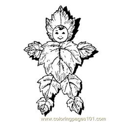 Herfst 36 coloring page