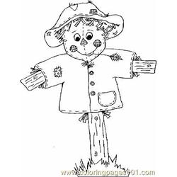 Scarecrow2 coloring page