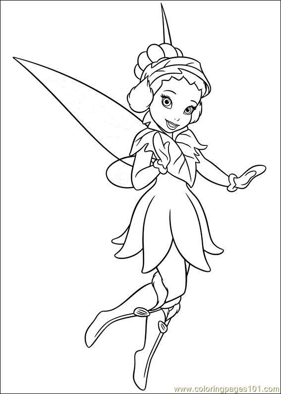 Tinkerbell Secret Of The Wings 03 Coloring Page