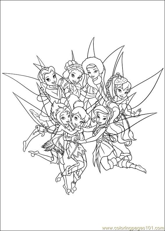 Tinkerbell Secret Of The Wings 08 Coloring Page