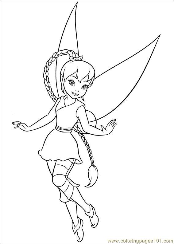 Tinkerbell Secret Of The Wings 13 Coloring Page - Free ...
