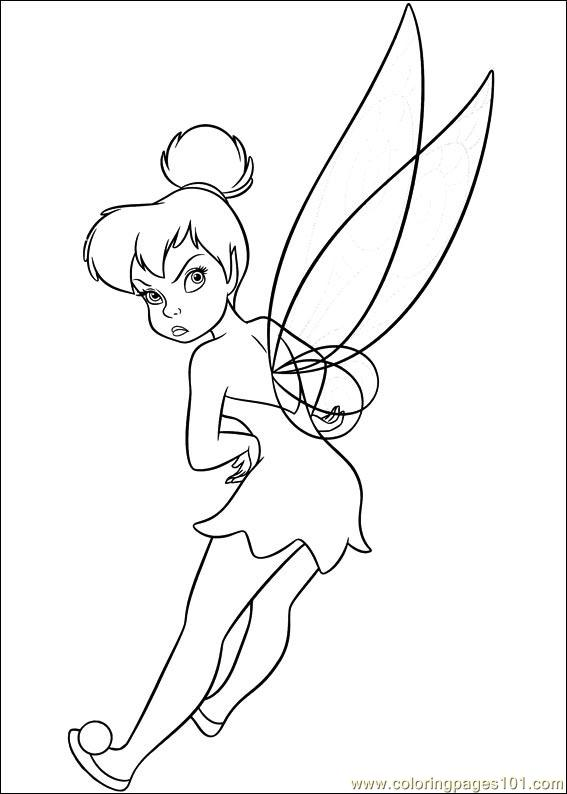 Tinkerbell Secret Of The Wings 14 Coloring Page