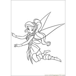 Tinkerbell Secret Of The Wings 02 coloring page