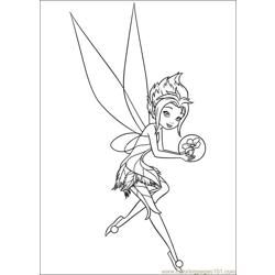 Tinkerbell Secret Of The Wings 05 coloring page