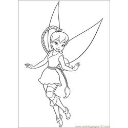 Tinkerbell Secret Of The Wings 13 coloring page