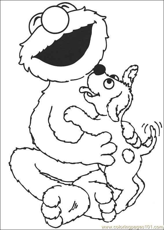 Sesame Street 12 Coloring Page