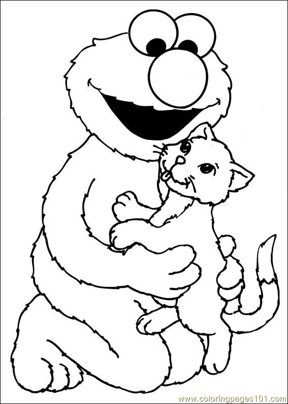 Sesame Street 31 Coloring Page