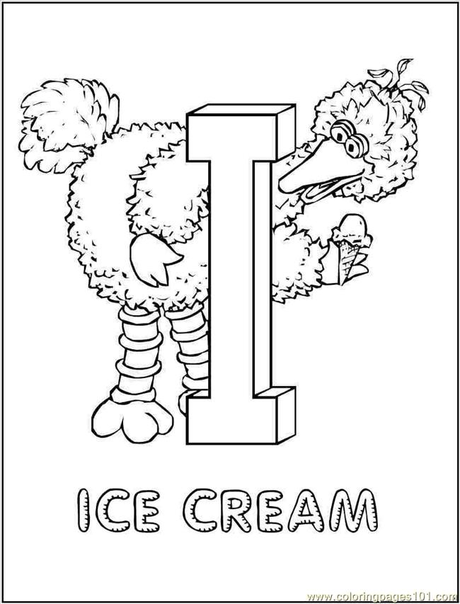 sesame street sign coloring pages - photo#39