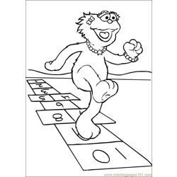 Sesame Street 52 coloring page