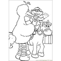 Sesame Street 54 coloring page