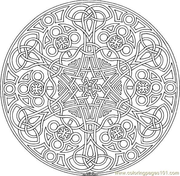 geometric coloring page free shapes coloring pages. Black Bedroom Furniture Sets. Home Design Ideas